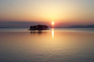 春の宍道湖 4