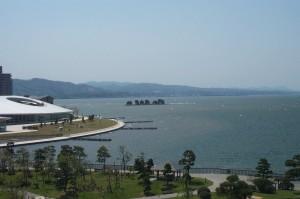 宍道湖4月
